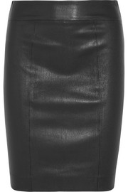 Clara leather skirt