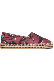 Isabel Marant Étoile Canaee printed canvas espadrilles