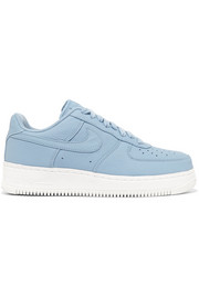 Air Force 1 perforated leather sneakers