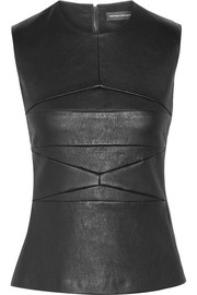 Narciso Rodriguez Paneled leather top