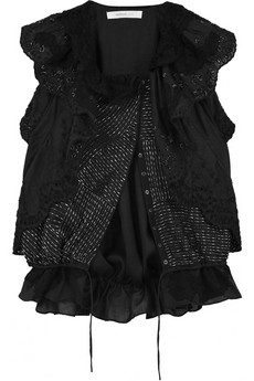 Vanessa Bruno|Runway viole beaded vest|NET-A-PORTER.COM from net-a-porter.com