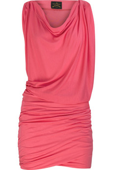 Vivienne Westwood Anglomania Jersey draped dress
