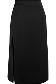 Lanvin Satin midi skirt