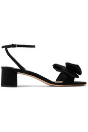 Miu Miu Bow-embellished satin sandals