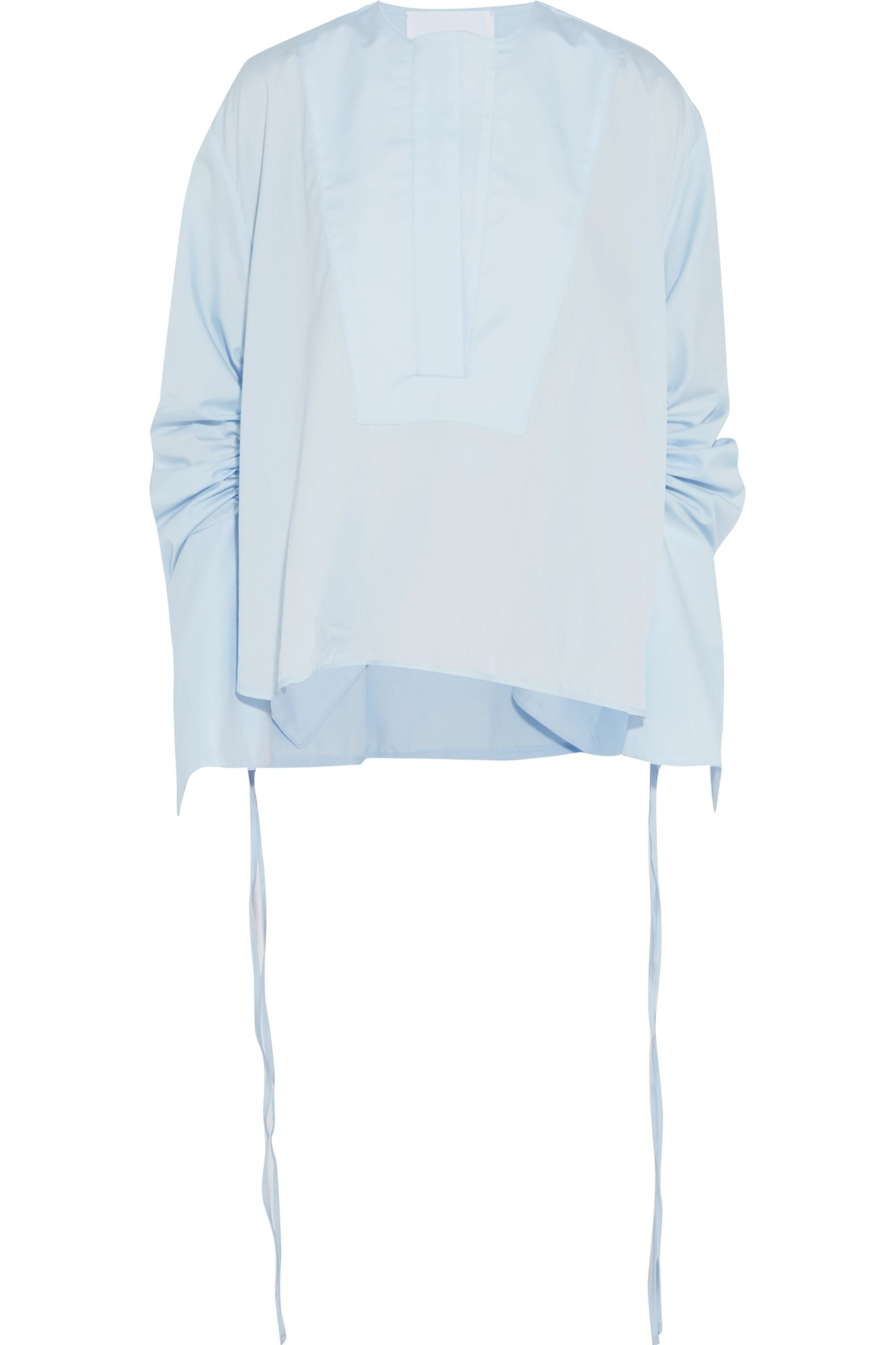 Georgia Alice Blue Moon cotton-poplin blouse