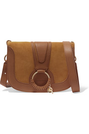 See by Chloé Hana medium leather and suede shoulder bag