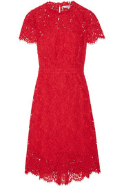 Alma cutout corded lace dress