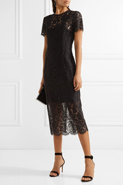 Diane von Furstenberg Carly guipure lace dress