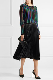 Diane von Furstenberg Arisha striped knitted sweater