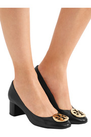 Tory Burch Hope embellished leather pumps