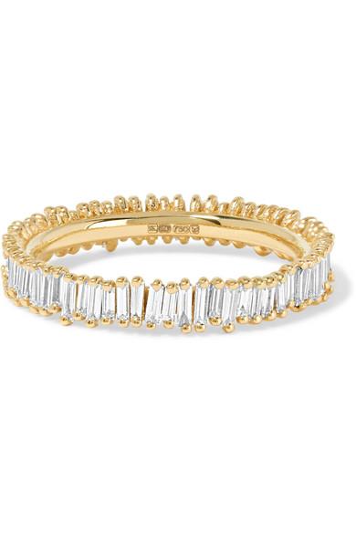 Suzanne Kalan - 18-karat Gold Diamond Ring