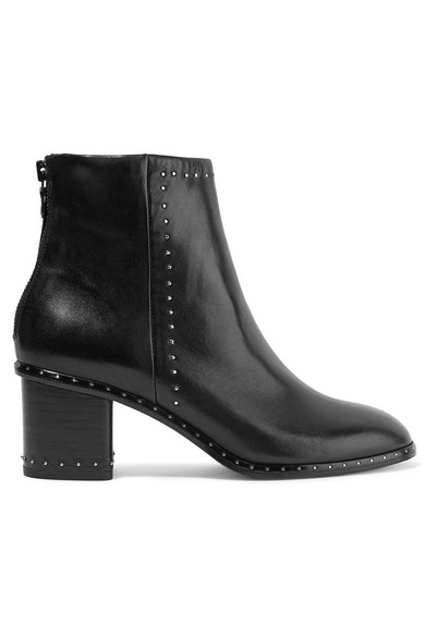 608363f59e8 Willow studded leather ankle boots