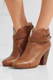 rag & bone Harrow shearling-lined leather ankle boots