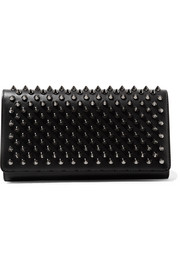 Christian Louboutin Macaron spiked leather wallet