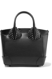 Eloise small spiked textured-leather tote