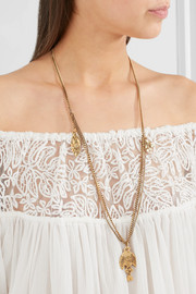 Chloé Gold-tone necklace