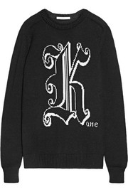 Christopher Kane Kane intarsia wool sweater
