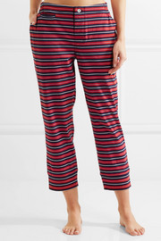 Stevie striped cotton pajama pants