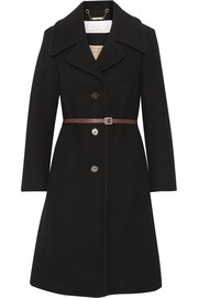 Iconic wool-blend coat