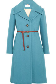 Chloé Iconic belted wool-blend coat