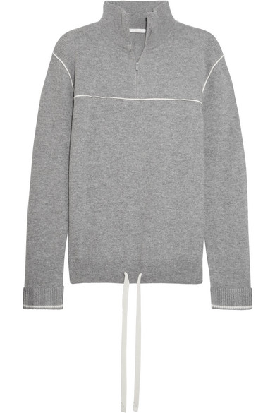 Chloé - Cashmere Turtleneck Sweater - Gray