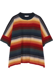Chloé Merino wool and cashmere-blend poncho