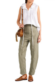 Chloé Cotton-twill pants
