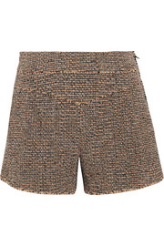 Chloé Wool-blend tweed shorts