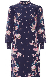 Mirela floral-print silk crepe de chine dress