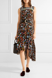 Peter Pilotto Adonia printed silk midi dress