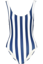 The Anne-Marie striped swimsuit