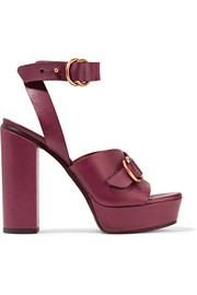 Chloé Leather platform sandals