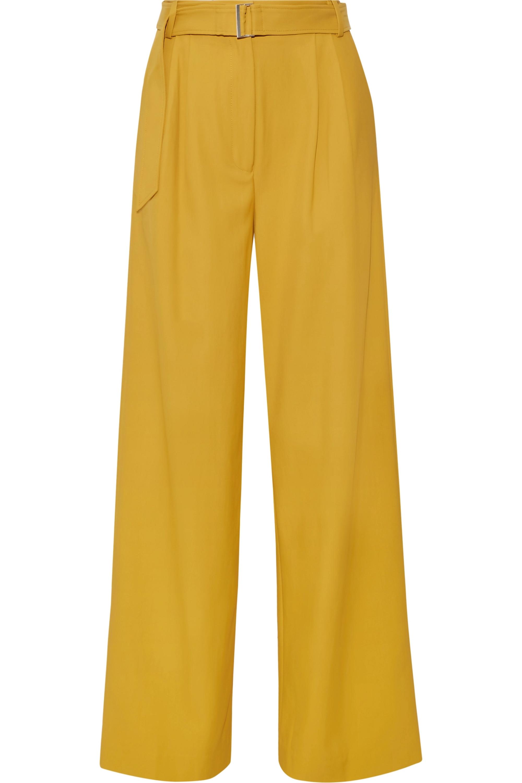 Tibi Stella twill wide-leg pants