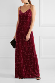 Elizabeth and James Valerie glittered velvet gown
