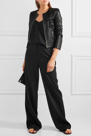 Elizabeth and James Helen stretch-leather jacket