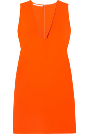 Stella McCartney Stretch-cady mini dress