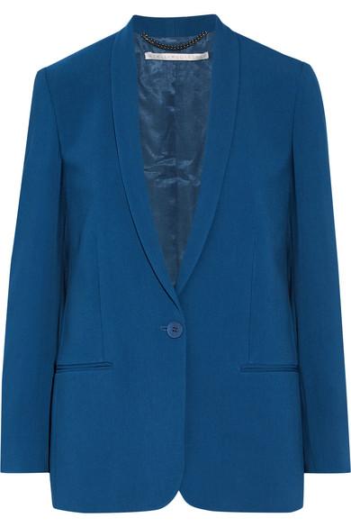 Stella McCartney - Mattea Stretch-cady Blazer - Cobalt blue
