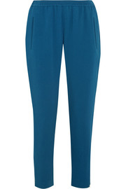 Tamara stretch-crepe track pants