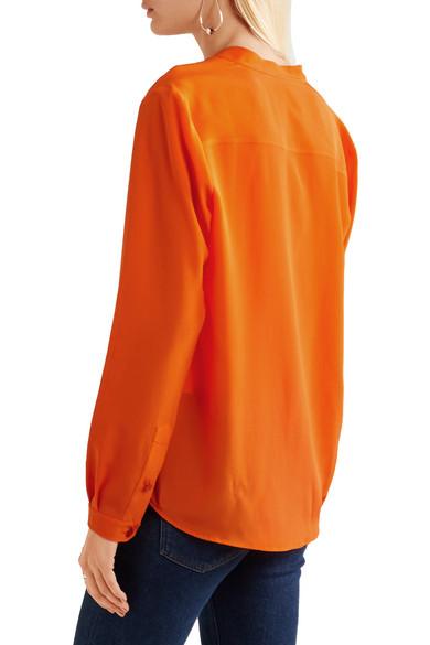 1d1c8b099fab8 Stella McCartney | Eva silk crepe de chine blouse | NET-A-PORTER.COM