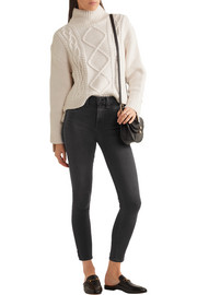 rag & bone The Capri cropped high-rise skinny jeans