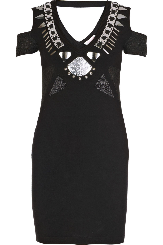 Black Heartbreaker Knitted Mini Dress Sass Bide Net A Porter
