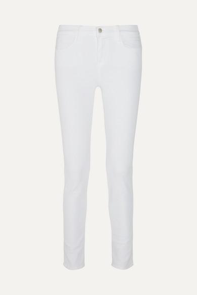 J Brand Maria hoch sitzende Skinny Jeans