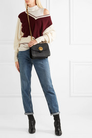 Chloé Mily textured-leather and suede shoulder bag