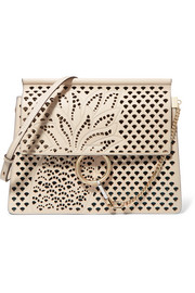 Chloé Faye medium perforated leather shoulder bag