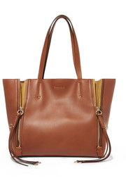 Milo medium leather tote