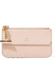 Chloé Joe textured-leather cardholder