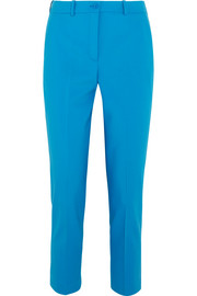 Samantha stretch-wool slim-leg pants