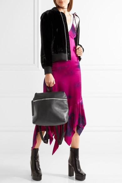 KARA | Large textured-leather backpack | NET-A-PORTER.COM
