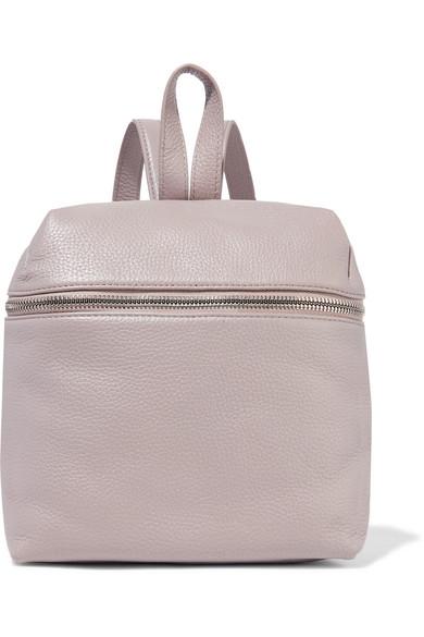 kara female kara small texturedleather backpack lilac