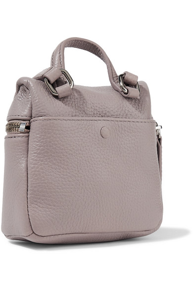 05d54957f64f KARA | Micro textured-leather shoulder bag | NET-A-PORTER.COM